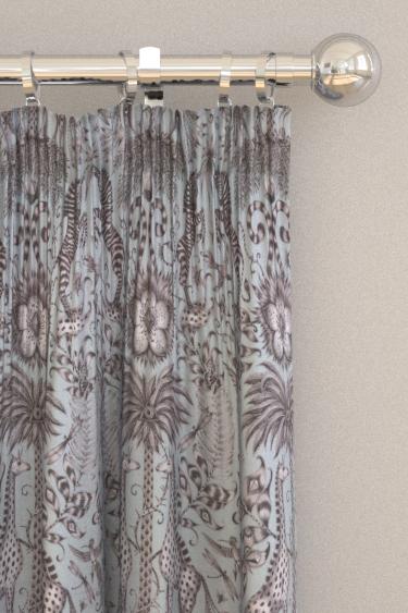 Emma J Shipley Kruger Duck egg Curtains - Product code: F1111/01