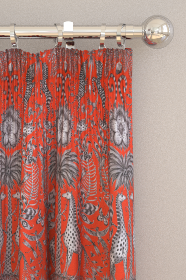 Emma J Shipley Kruger Flame Curtains - Product code: F1111/02