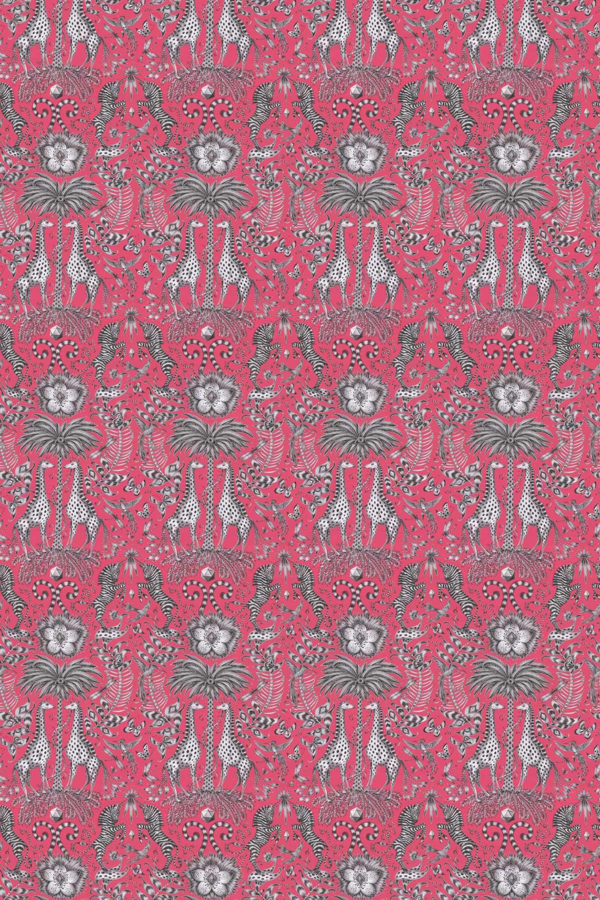 Kruger Fabric - Magenta - by Emma J Shipley