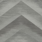 Albany Cascade Charcoal/ Silver Wallpaper