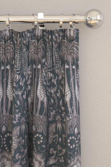 Emma J Shipley Kruger Navy Curtains - Product code: F1111/05