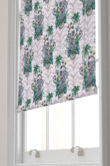 Emma J Shipley Lemur Green Blind - Product code: F1112/01