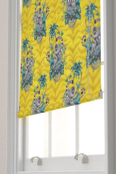 Emma J Shipley Lemur Lime Blind - Product code: F1112/02