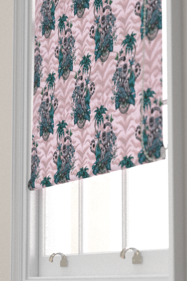 Emma J Shipley Lemur Pink Blind - Product code: F1112/04