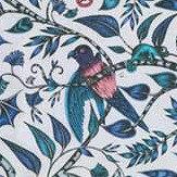 Clarke & Clarke Rousseau Blue Fabric