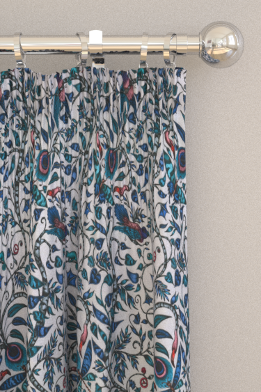 Emma J Shipley Rousseau Blue Curtains - Product code: F1113/01
