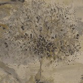 Albany Ascadia Tree Gold/ Charcoal Wallpaper