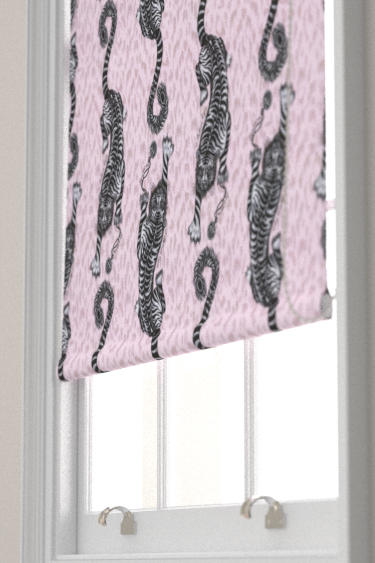 Emma J Shipley Tigris Pink Blind - Product code: F1114/03