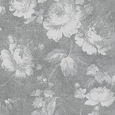 Albany Dusky Floral Grey Wallpaper
