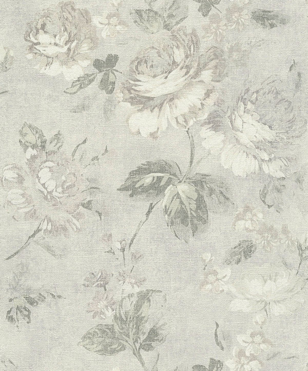 Albany Dusky Floral Stone Wallpaper - Product code: 33604-3