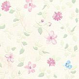 Albany Mini Floral Pink Wallpaper