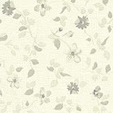 Albany Mini Floral Grey Wallpaper