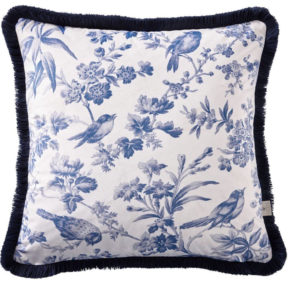 Oasis Amelia Cushion Indigo - Product code: M2035/02