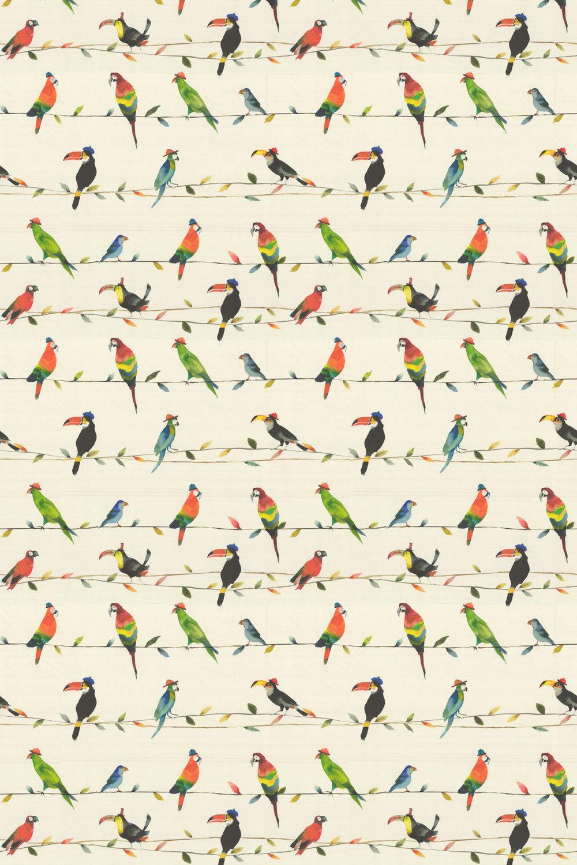 Toucan Fabric - Paintbox - by Prestigious