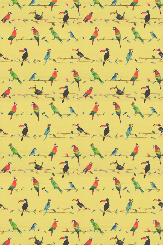 Toucan Fabric - Zest - by Prestigious