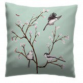 Petronella Hall Blossom Eau de nil Cushion