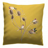 Petronella Hall Goldfinch Straw Cushion - Product code: G-CS