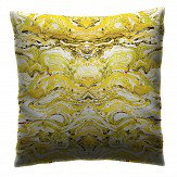Petronella Hall Marbled Citrus Cushion
