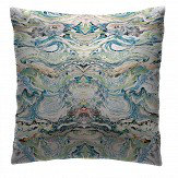 Petronella Hall Marbled Pastel Cushion