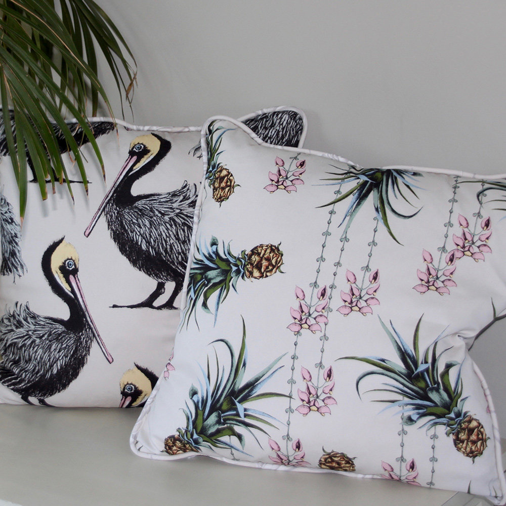 Petronella Hall Pelican Grey Cushion - Product code: P-CG