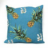 Petronella Hall Pineapples/Petals Driftwood Cushion - Product code: PIN-CD