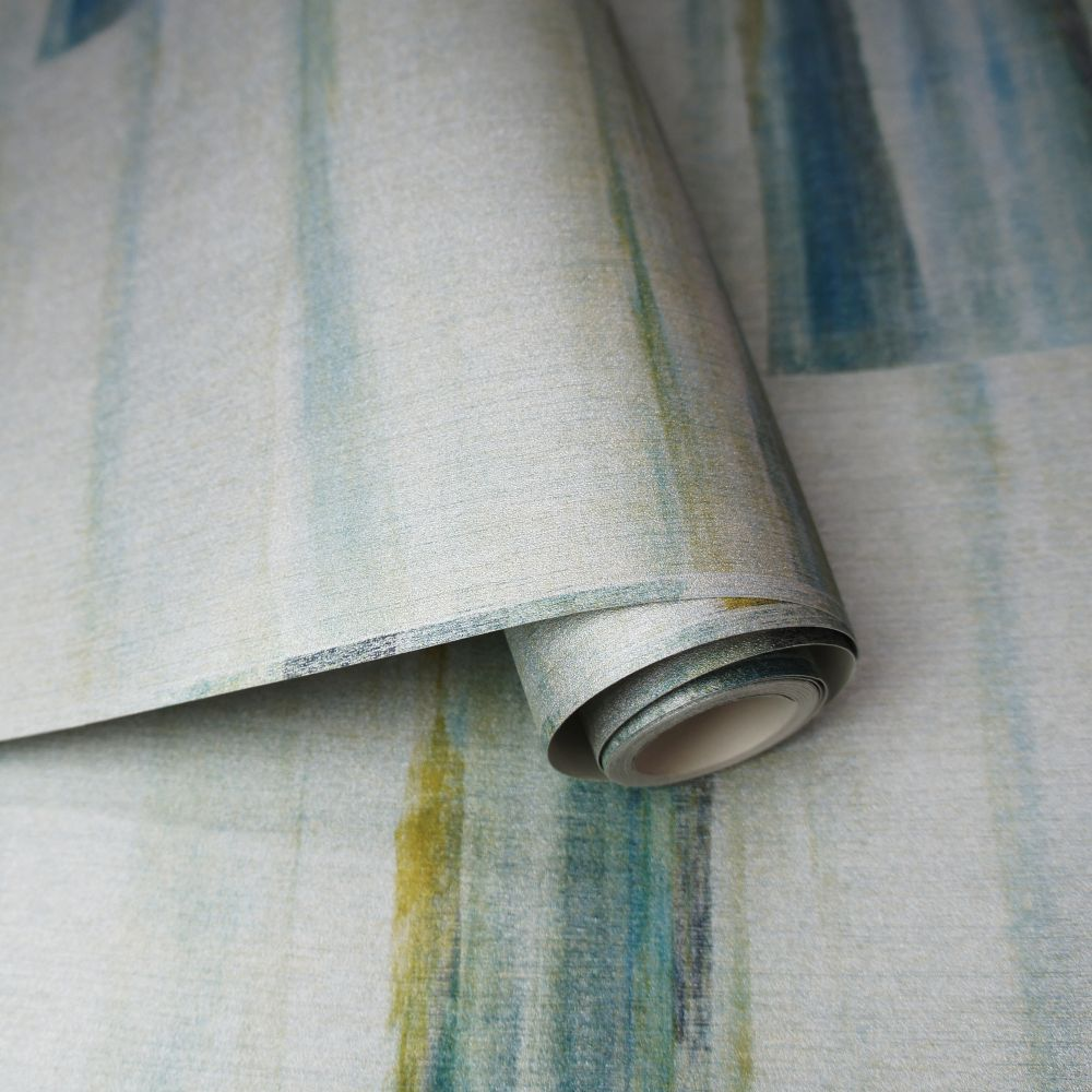 Albany Luna Teal Wallpaper - Product code: 35741