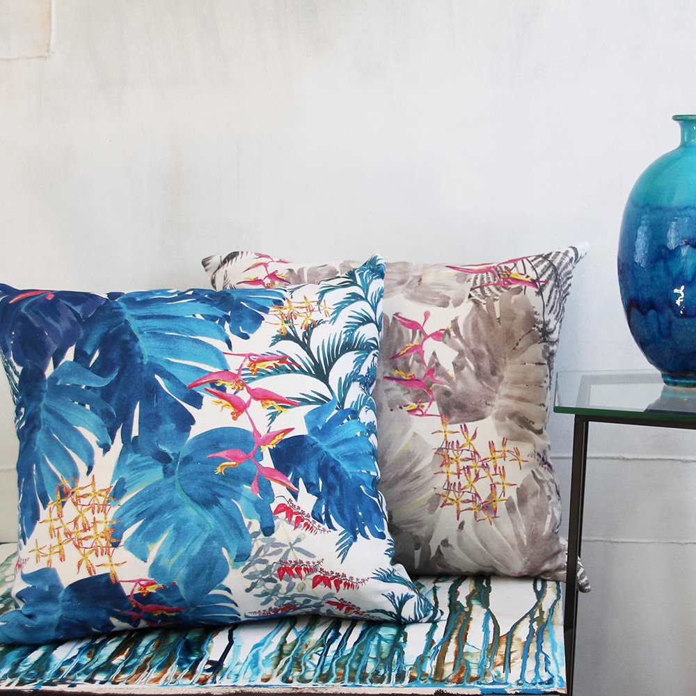 Petronella Hall Tropical Smoke Cushion - Product code: T-CS50