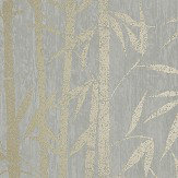 Albany Nandina Grey/ Gold Wallpaper