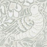 Morris Pure Dove and Rose Grey Blue Wallpaper