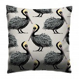 Petronella Hall Pelican Oyster Cushion