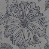 Morris Pure Honeysuckle and Tulip Black Ink Wallpaper - Product code: 216523
