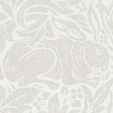 Morris Pure Brer Rabbit White Clover Wallpaper