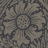 Morris Pure Marigold Black Ink Wallpaper - Product code: 216535