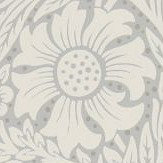 Morris Pure Marigold Cloud Grey Wallpaper - Product code: 216536