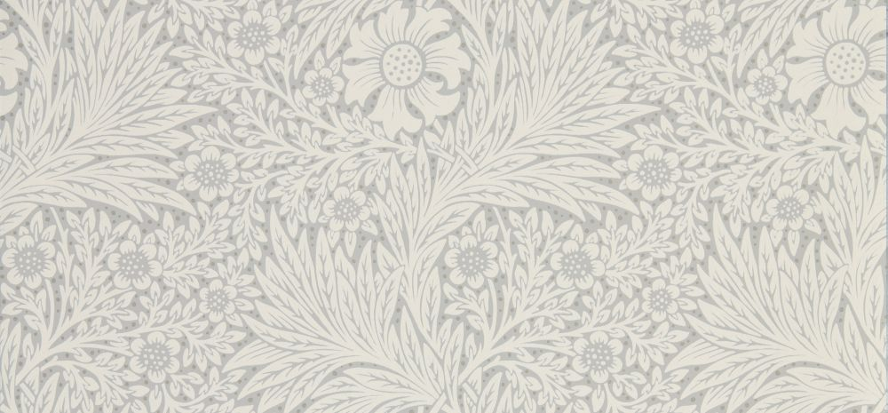 Morris Pure Marigold Cloud Grey Wallpaper - Product code: 216536