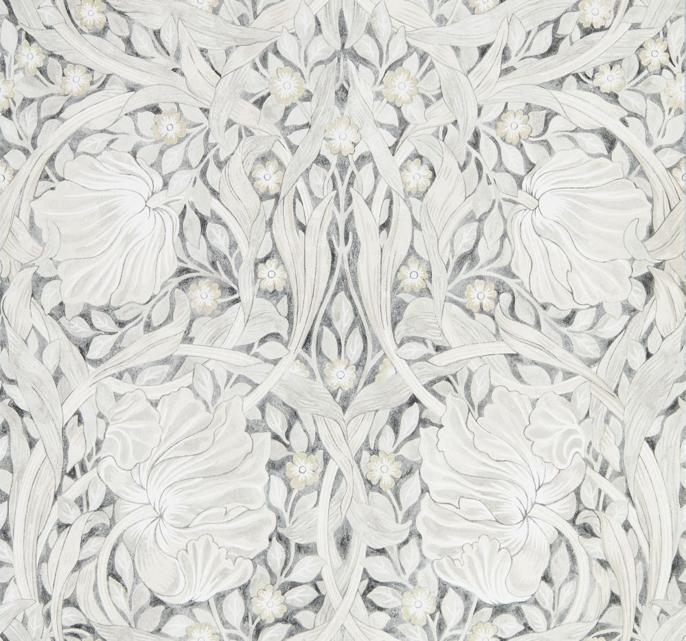 Morris Pure Pimpernel Black Ink Wallpaper - Product code: 216539