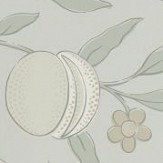 Morris Pure Fruit Grey Blue Wallpaper