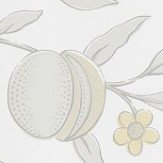 Morris Pure Fruit Horned Poppy / Grey Wallpaper