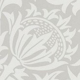 Morris Pure Thistle Pebble Wallpaper - Product code: 216551