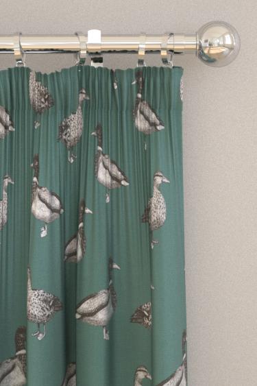 Prestigious Duck Teal Curtains - Product code: 5040/117
