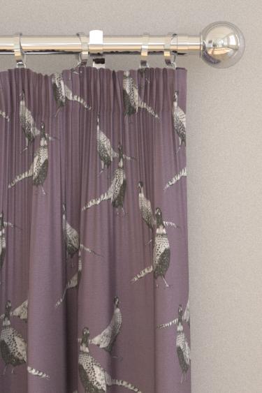 Prestigious Pheasant Heather Curtains - Product code: 5041/153
