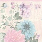 Albany Floral Border Pink - Product code: 35876-1