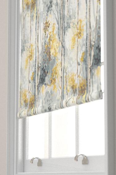 Prestigious Silver Birch Grey/ Yellow Blind - Product code: 5028/958
