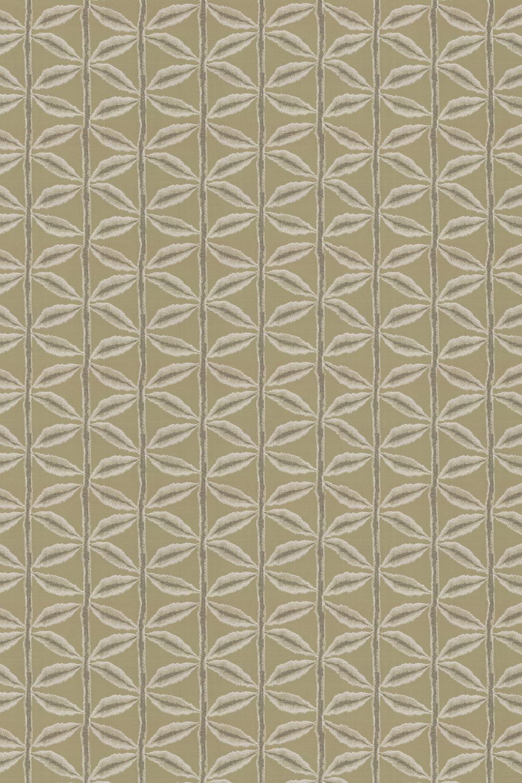 Palm Fabric - Ochre - by Prestigious