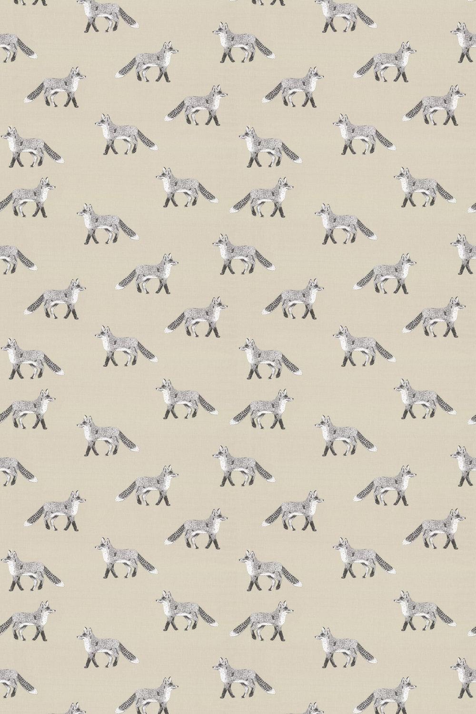 Fox Fabric - Canvas - by Prestigious