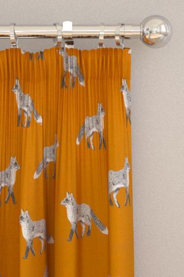 Prestigious Fox Umber Curtains - Product code: 5044/460