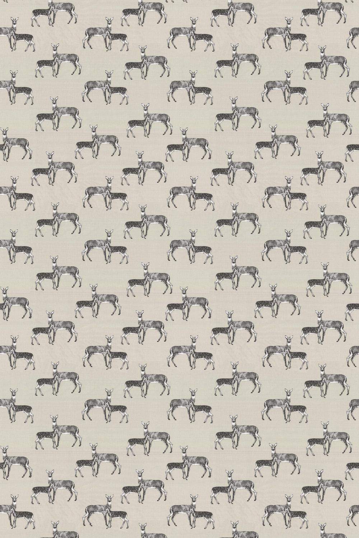 Deer Fabric - Canvas - by Prestigious