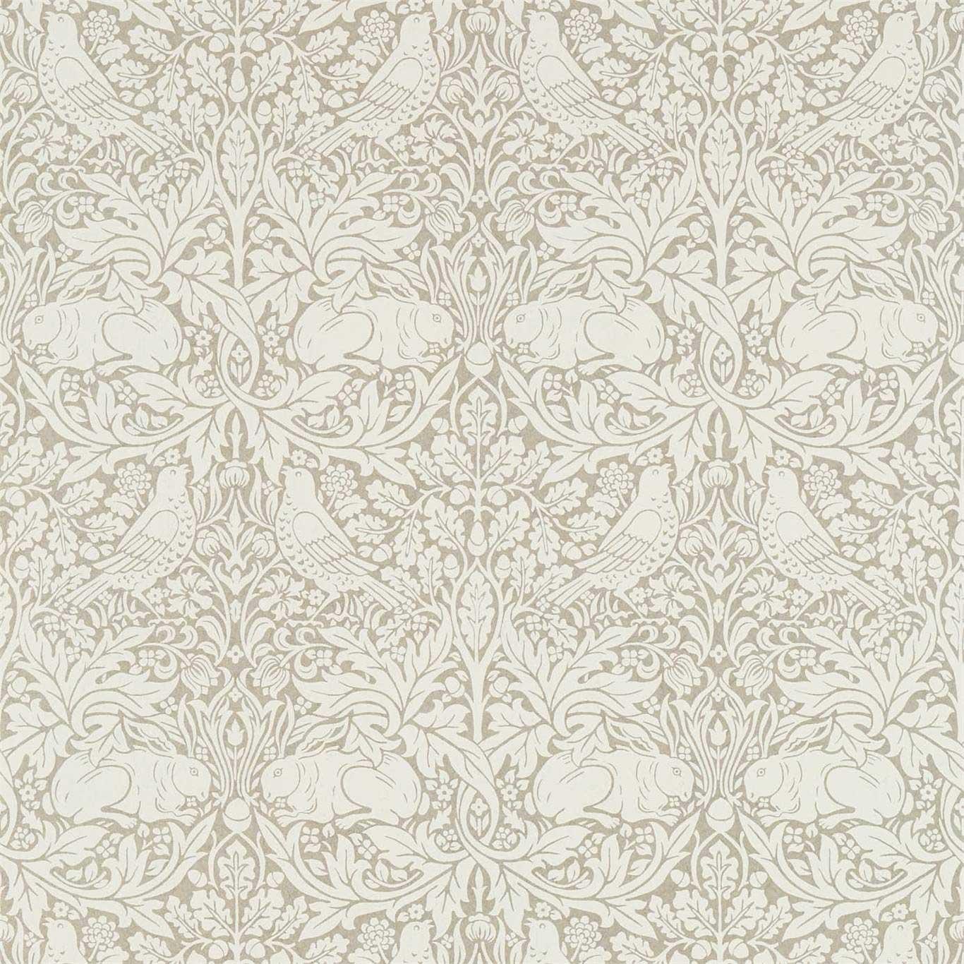 Morris Pure Brer Rabbit Gilver Wallpaper - Product code: 216532