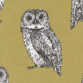 Prestigious Owlet Olive Fabric - Product code: 5047/618