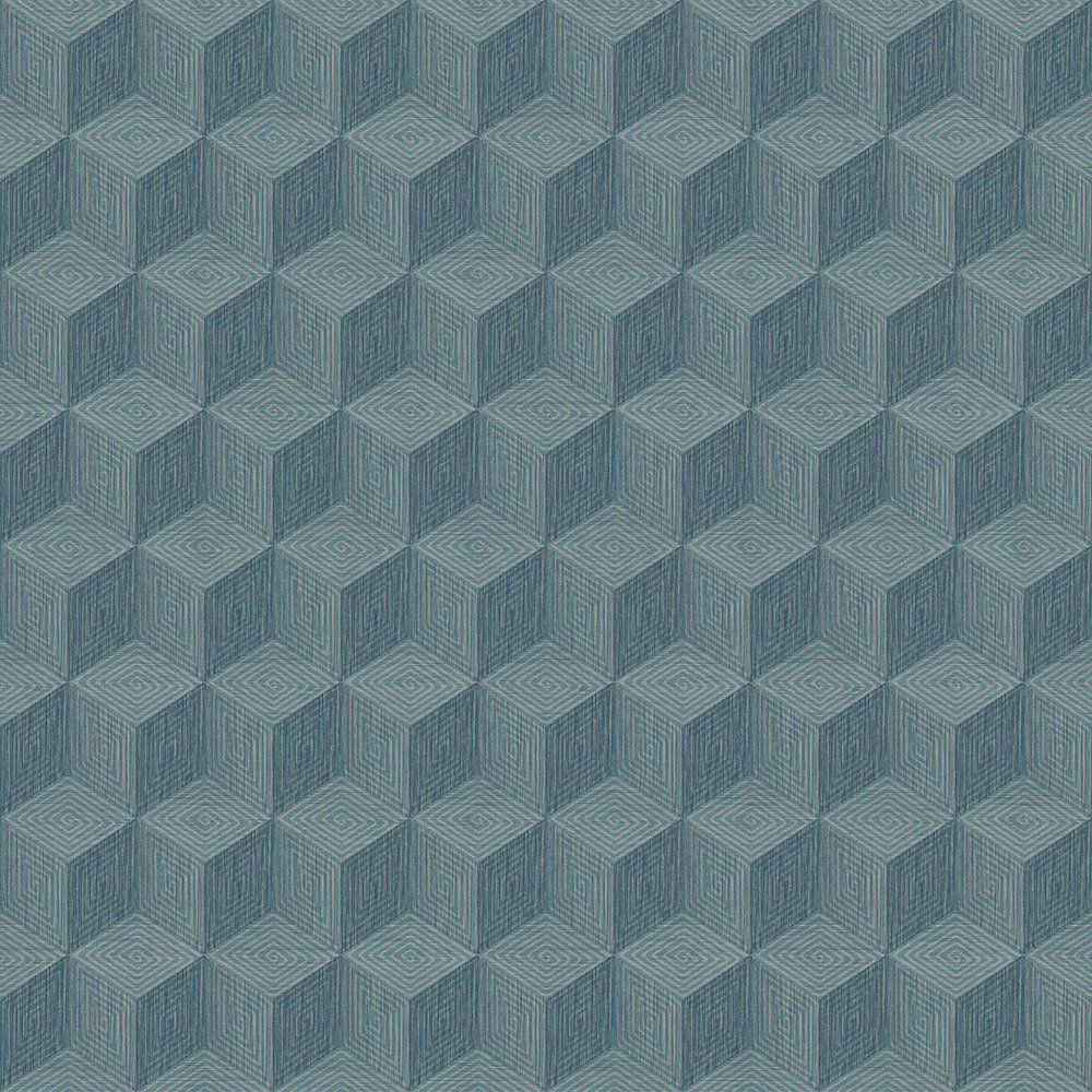 Engblad & Co Claremont Blue Wallpaper - Product code: 6363